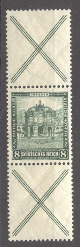 1931 Se-Tenant, Semi-Postal Mi. S 95, MNH