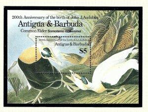 Antigua 914 MNH 1986 Ducks S/S          (KA)