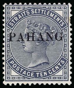 Malaya / Pahang Scott 3 Gibbons 3 Mint Stamp