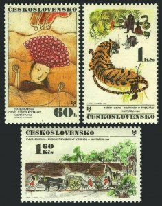 Czechoslovakia 1769-1771,MNH.Michel 2029-2031.Illustrations for children's books