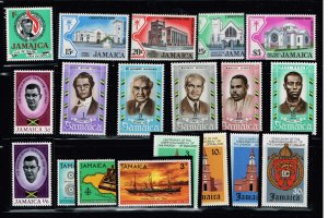 JAMAICA STAMP MNH STAMPS IN PROTECTOR LOT  #3
