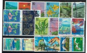 Japan 20 Used pairs, some minor faults - C438