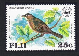 Fiji Birds WWF Warbler 1v SG#565 SC#398 MI#388