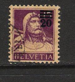 SWITZERLAND 197 VFU L95