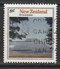 1973 New Zealand - Sc 529 - used VF - single - Mt Ngauruhoe