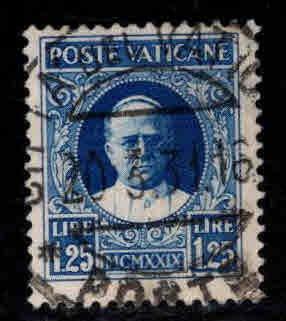 VATICAN Scott 9 Used 1929 stamp