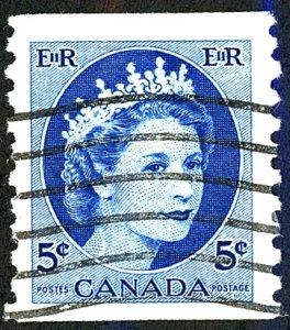 Canada #348 Used