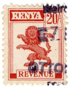 (I.B) KUT Revenue : Kenya Duty 20/-
