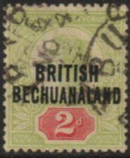British Bechuanaland - 1891 QV 2d Used SG 34