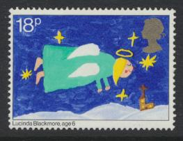 Great Britain SG 1172 Used    Christmas 1981  SC# 962