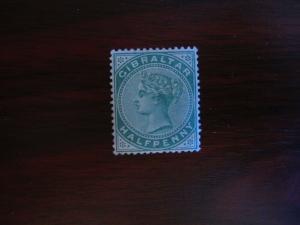 Gibraltar #9 Mint Hinged- (JB6) WDWPhilatelic