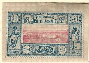 French Somali Coast (Scott #16) VF Mint hr...Buy before prices go up again!