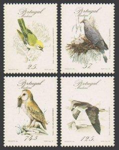 Portugal Madeira 115-118,MNH.Michel 111-114. Birds 1987.