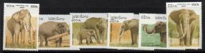 Laos 1329-34 MNH Elephants