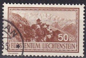 Liechtenstein  #125  F-VF Used  CV $21.00 (Z2934)