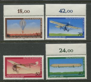STAMP STATION PERTH Germany #B549-552 Air Travel Issue MNH Set of 4