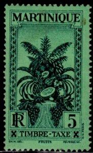 Martinique, Sc J26, MH, 1933, Tropical Fruit, (AA02042)