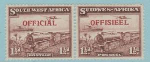 South West Africa O17 Mint Hinged OG * No Faults Extra Fine!