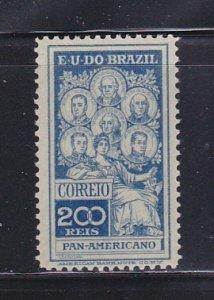 Brazil 191 Set MH Famous People (B)