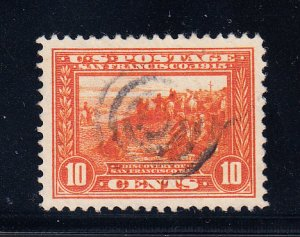 US #400A XF/S used lightly cancelled Gem!