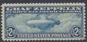 Scott # C15 Mint NH OG VF Graf Zeppelin
