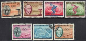 HAITI SC# 462-65 & C163-65 1960 OLYMPICS SEE SCAN