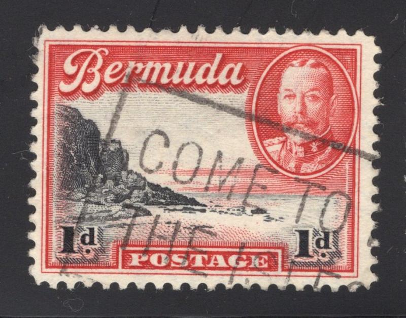 Bermuda #106 Carmine & Black - Come To The Isles? Cancel