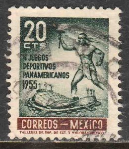 MEXICO 890, 20¢ Second Pan American Games. Used. VF. (1068)