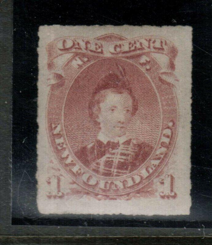 Newfoundland #37 Very Fine+ Mint Original Gum Lightly Hinged