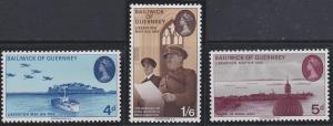 Guernsey 30-32 MNH (1970)