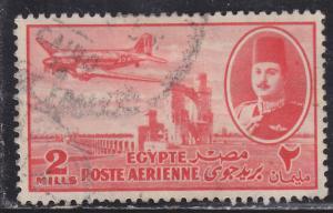 Egypt C39 DC-3 & Delta Dam 1947