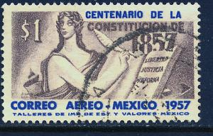 MEXICO C240 Centenary of the Mexican Constitut. Used. (1123)