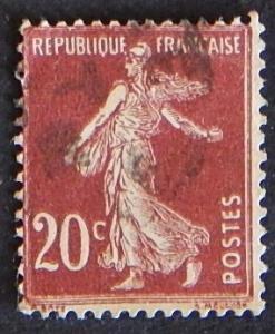 1906 -1920, Sower-Solid Background, No Pedestal-Precancelled, France, №1008-T