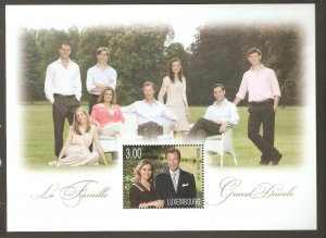 2010   LUXEMBOURG  -  SG  MS 1880  - GRAND DUCALE FAMILY   - UMM
