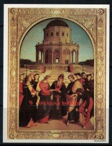 Antigua #688* NH  CV $3.50 Souvenir Sheet
