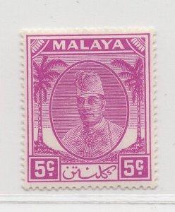 Malaya Kelantan - 1951 - SG 65a - MH