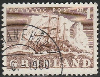 Greenland, #36 Used From 1950-60