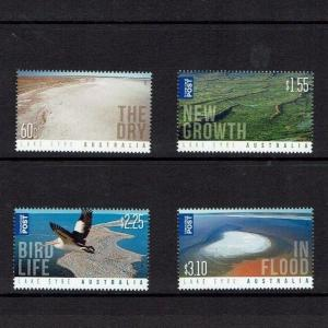 Australia: 2011, Lake Eyre, MNH set