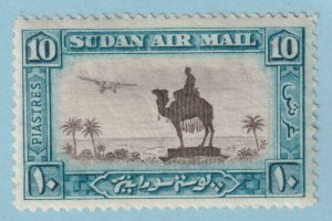 SUDAN C15 AIRMAIL  MINT HINGED OG * NO FAULTS EXTRA FINE!