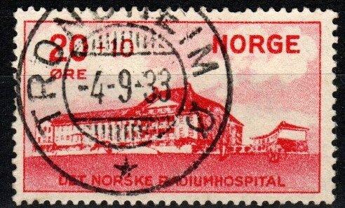 Norway #B4 F-VF Used CV $10.00  (X8483)