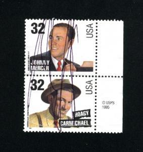 USA #3101, 3103  used 1996 PD 16
