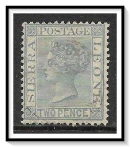Sierra Leone #26 Queen Victoria Used