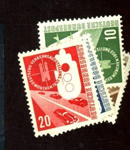 GERMANY #698-701 MINT F-VF OG LH Cat $26