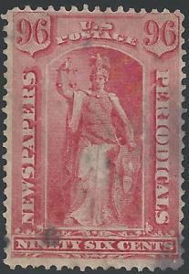 Scott PR23, Used, Newspaper Stamps (PR)