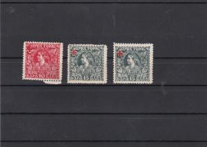 Montenegro 1918 Red Cross Stamps Ref 31167