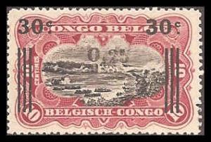 Belgian Congo 86 Mint VF LH