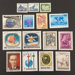 Hungary Used #031421, all different