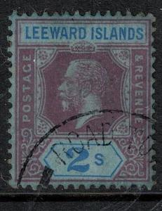 Leeward Islands 1922 SC 55 Used Stamp SCV $65.00