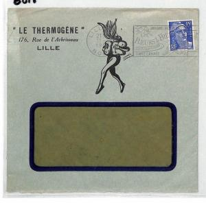 BS18 c1955 France Lille Le Thermogene Cover PTS