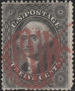 U.S. 36b Used FVF Red ccl. (62818)